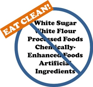 Eat_Clean_No_Processed_Foods_Chemically_Chemicals_Enhanced_Artificial_White_Flour_Sugar_He_and_She_Eat_Clean_motto